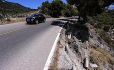 Así es la carretera del precipio en la Costa: un punto negro muy peligroso
