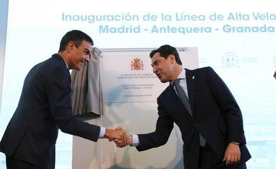 Moreno pide invertir en el ferrocarril de Jaén aunque no haya Gobierno