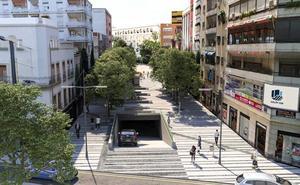 Cambios de tráfico por el inicio de las obras en Roldán y Marín, el lunes
