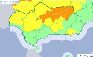 Alerta naranja hoy por calor en la provincia de Jaén, con hasta 41 grados
