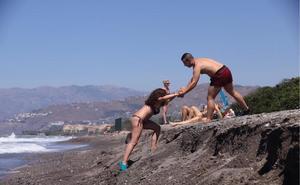 El eterno problema de la 'playa menguante' de Motril