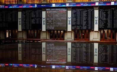 El Ibex-35 pone fin a las caídas gracias al BCE y a la FED y pese a Trump
