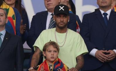 Neymar, en Brasil hasta el lunes y pendiente del Barça