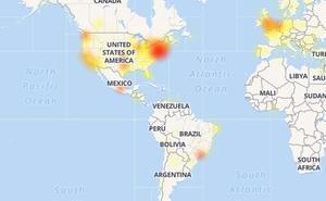 Twitter se cae a nivel mundial durante más de una hora