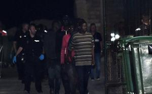 Rescatados 124 inmigrantes de tres pateras en el mar de Alborán