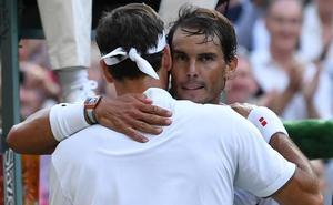 Federer reverdece ante Nadal