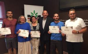 La UGR gana el tercer premio en el Curso y Concurso Nacional de Interpretación de Suelos en Campo