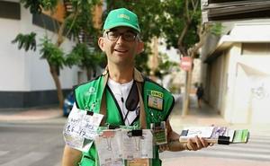 La ONCE reparte 350.000 euros entre diez vecinos de la calle Hermanos Pinzón de Almería