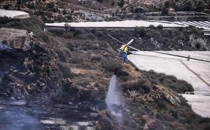 Extinguido el incendio forestal en Motril