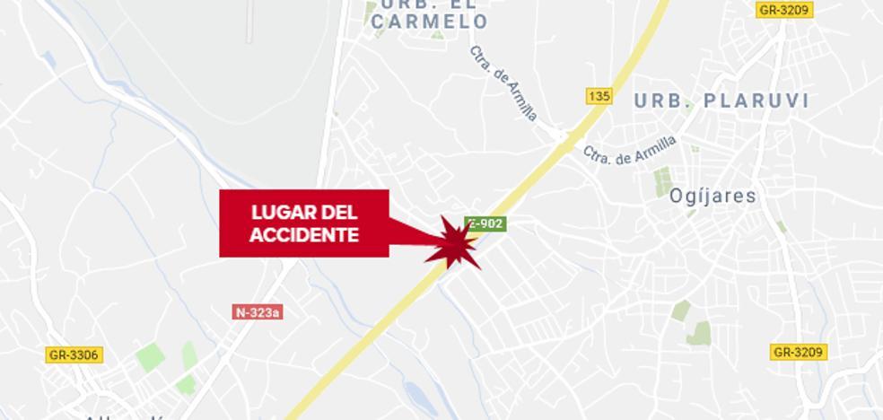 Un pequeño accidente en hora punta genera un monumental atasco en la autovía de Granada hacia la Costa