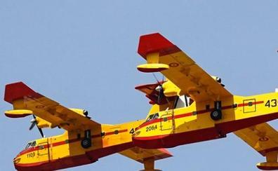 El Ejército del Aire aporta dos aviones del 43 Grupo a la UE para luchar contra incendios