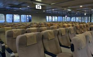 Trasmediterránea opera desde ayer una de las rutas diarias a Melilla en fast ferri