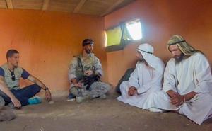 La Legión, líder del combate en el desierto