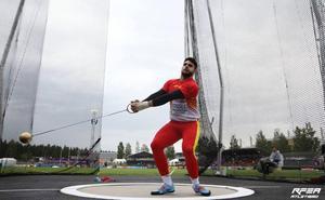 El jienense Alberto González, campeón de Europa sub 23 de lanzamiento de martillo