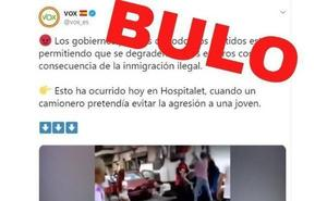 Desmienten un bulo de Vox sobre una supuesta pelea provocada por la inmigración ilegal