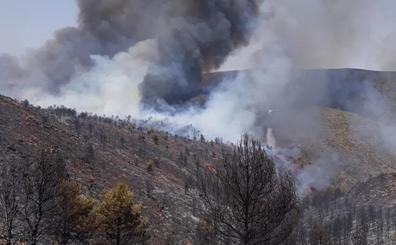 48 horas contra el fuego en Gádor