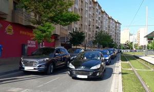 En marcha la caravana de coches para denunciar el aislamiento ferroviario de Jaén
