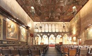Un arquitecto almeriense halla en México un artesonado del Castillo de Vélez Blanco