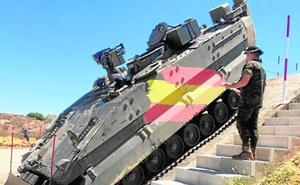Pruebas con el nuevo vehículo de combate de zapadores 'Castor'