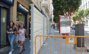 Las obras de reforma de la céntrica Roldán y Marín arrancan puntuales