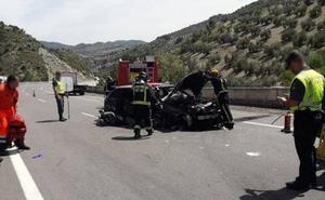 Fallecen 31 personas en 2018 por accidente de tráfico en Jaén, cuatro menos que en 2017