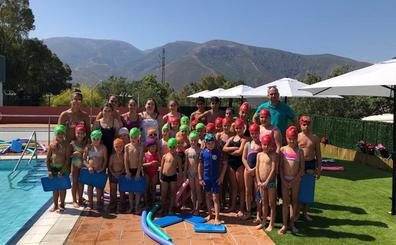 La Campaña Municipal de Natación de Órgiva 2019 congrega a casi 400participantes