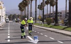 Los nuevos aparcamientos de Playa de Poniente estarán listos el viernes