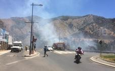 Controlado el incendio urbano de Cenes de la Vega