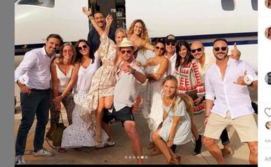 Elsa Pataky, de fiesta en Ibiza
