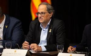 Torra urge a Sánchez a formar gobierno cuanto antes para sentarse a dialogar