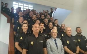 Llegan a Almería 45 nuevos agentes de Policía en prácticas para reforzar la seguridad de la ciudad
