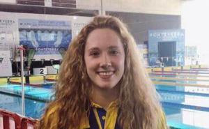 Cuatro medallas para Gloria Posadas en el andaluz de natación