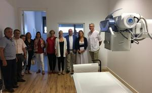 El centro de salud abre servicio de Radiología