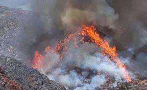 Dan por extinguido el incendio de Terque tras cinco días de labores y 1.191 hectáreas afectadas