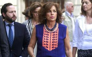 El Tribunal de Cuentas revoca su condena a Ana Botella por la venta de pisos protegidos a 'fondos buitre'