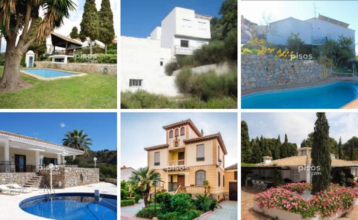 Las 25 viviendas en venta más caras de Granada