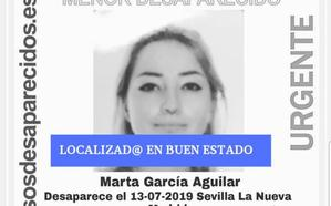 Localizada en buen estado la menor desaparecida desde el sábado en Sevilla La Nueva (Madrid)
