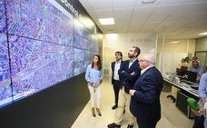 La sala de control de tráfico convierte a Almería en una ciudad inteligente y pionera en movilidad