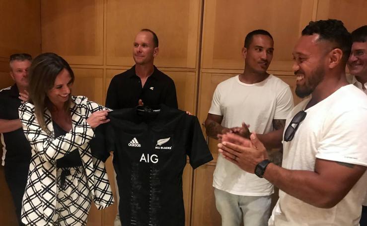Nos vamos con los famosos All Blacks por toda Granada