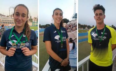 Unicaja ocupa el primer puesto del medallero en el Andaluz de atletismo
