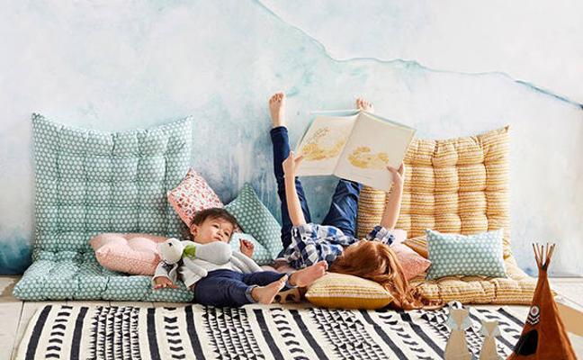 Los cojines de suelo, la nueva tendencia que cambiará tu hogar