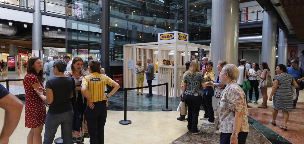 Ikea lanza su avanzadilla con un stand de diseño en Torrecárdenas