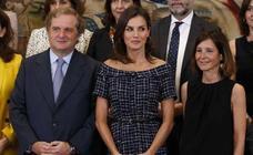 Así es el vestido de menos de 20 euros que lució la Reina Letizia