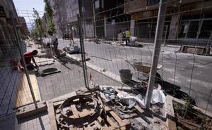 La calle Ancha 'de nunca acabar': la nueva fecha de finalización es el viernes 26