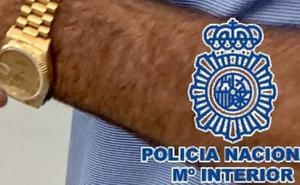 Cazan a un turista con un reloj de 28.000 euros cuyo robo había denunciado