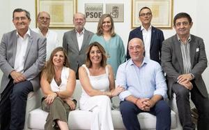 El PSOE-A hará un frente a las políticas del Gobierno PP-Cs con las seis diputaciones que preside