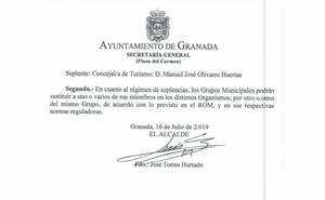 Torres Hurtado vuelve a ser alcalde por unos minutos