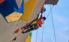 Javier Aguilar se proclama subcampeón del mundo de paraescalada en Briançon