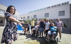 Una veintena de jóvenes con discapacidad del Hogar San Juan de Dios graba dos cortometrajes