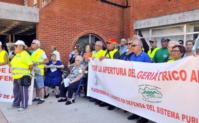 Los pensionistas reclamarán en Jaén que se abra todo el geriátrico o tenga más plazas